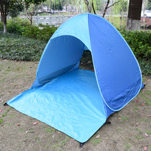 Beach Tent Pop Up Automatic Open Tent Family Camping Anti-UV Fully Sun Shade