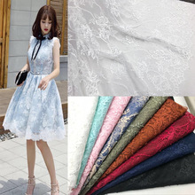 New thin lace fabric eyelash positioning flower dress for DIY garments accessories handicrafts