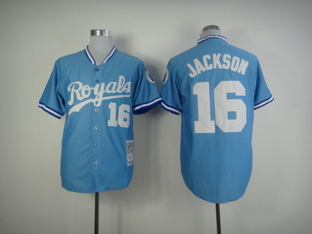 sale retailer b8a31 39528 australia bo jackson kansas city royals throwback jersey ...