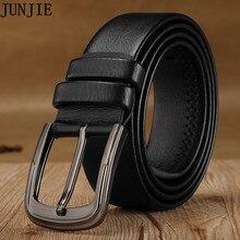 2017 Hot Sale Cowhide Genuine Leather Belts for Men Vintage New Design Male Strap Ceinture Man