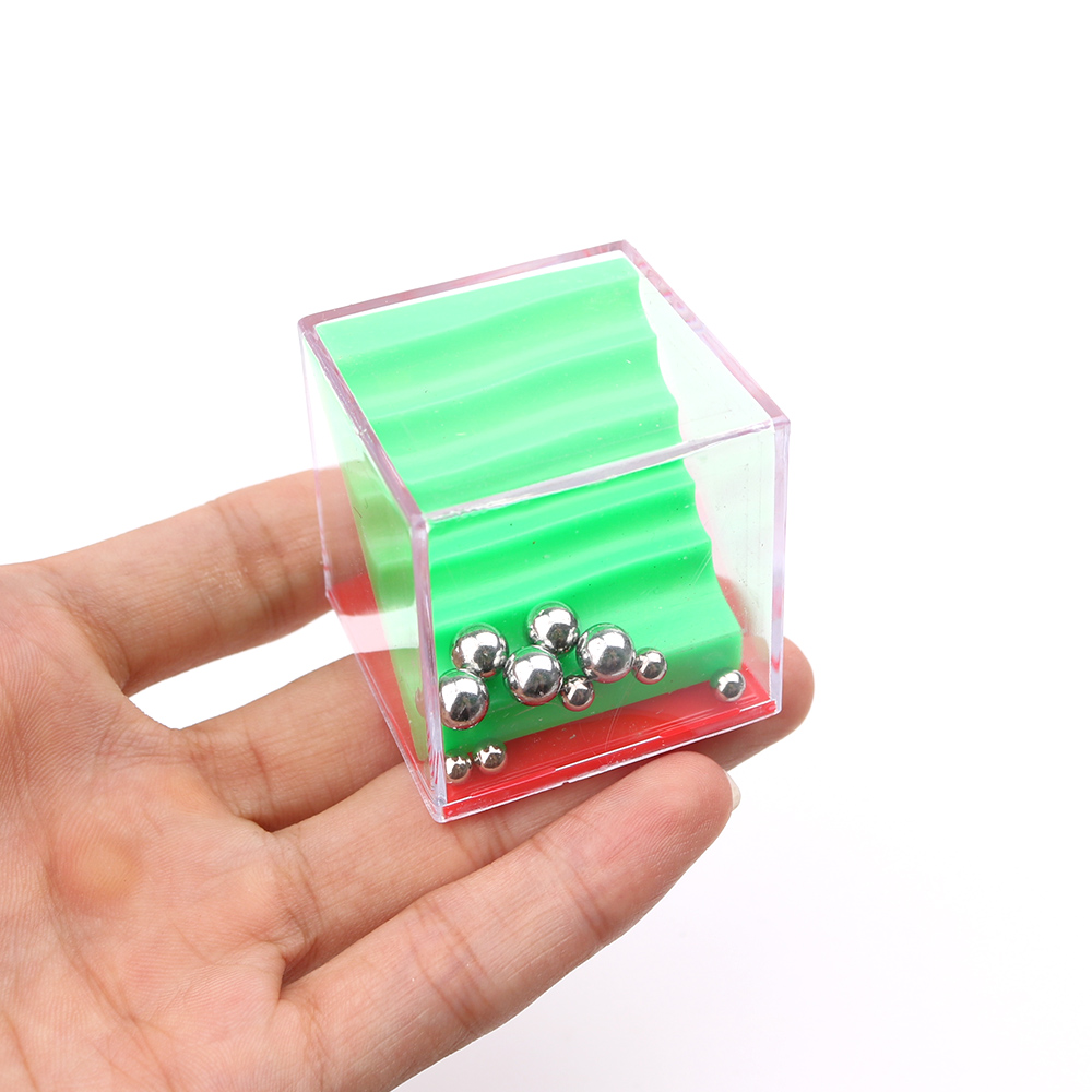 6pcs Puzzle Small Gadget EDC Hand Fidget Balance Game Box Fiddle Cube Time Killing Anti Stress Toy For ADHD Anxiety Autism In Magic Cubes From Toys