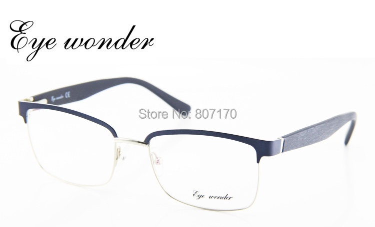 Half Frame Square Glasses : Aliexpress.com : Buy Eye wonder New Vintage Metal Glasses ...
