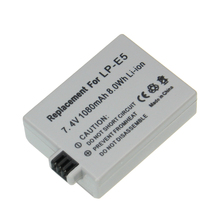 Preço de Fábrica Recarregável para Câmera Bateria para Canon 1 PCS 1080 MAH 7.4 V Lp-e5 Lpe5 LP E5 450d 500d 1000d