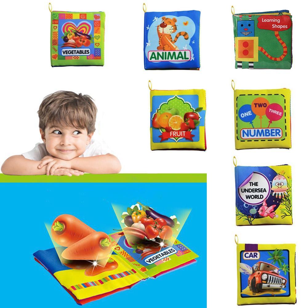 7 modèles bébé jouet doux tissu livres bruissent son infantile éducatif poussette hochet jouet nouveau-né berceau lit bébé jouets 0-36 mois