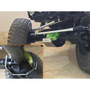 Image 5 - Полный комплект, металлические бронированные пластины, защитные наборы для 1/10 Gmade GOM GR01 RC Car OP Refit детали