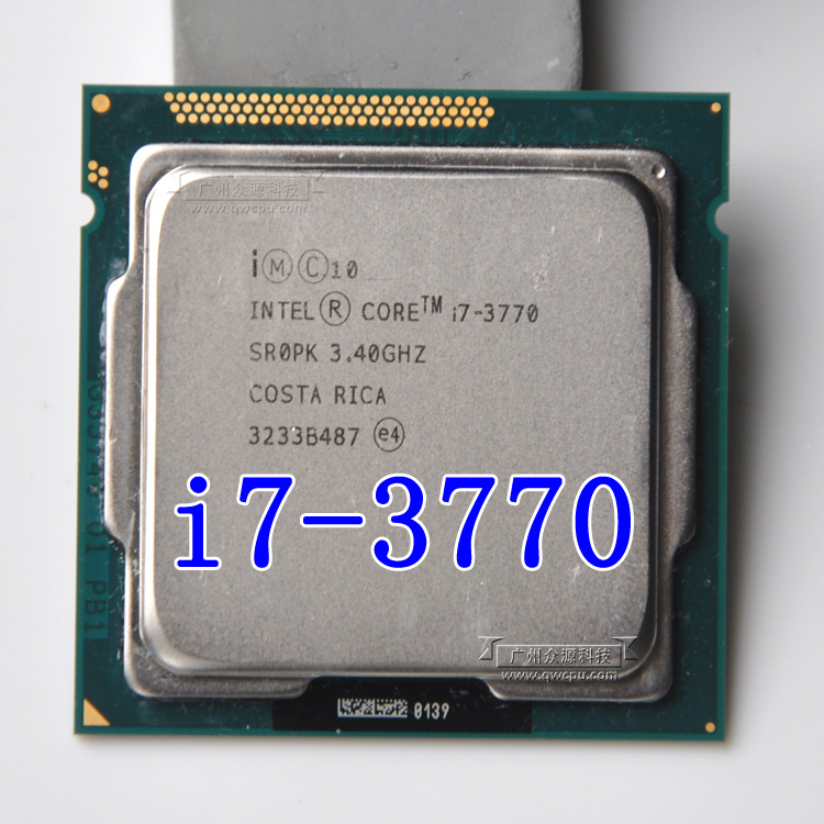 Intel Core i7 3770 3.4 ГГц 8 м 5.0gt/S LGA 1155 sr0pk Процессор настольный процессор