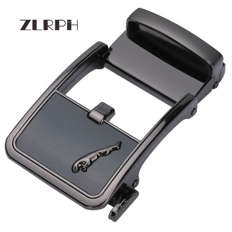 ZLRPH Famous Brand Belt Buckle Men Top Quality Luxury Belts Buckle For Men 3.5 Cm Strap Male Metal Automatic Buckle