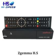 1 unid Zgemma H. S full HD Por Satélite receptor de DVB-S2 enigma 2 linux OS Sintonizador incorporado Zgemma estrellas H.S