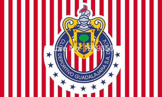 Chivas Guadalajara Flagge 3ftx5ft 100d Polyester Flagge Metall ösen