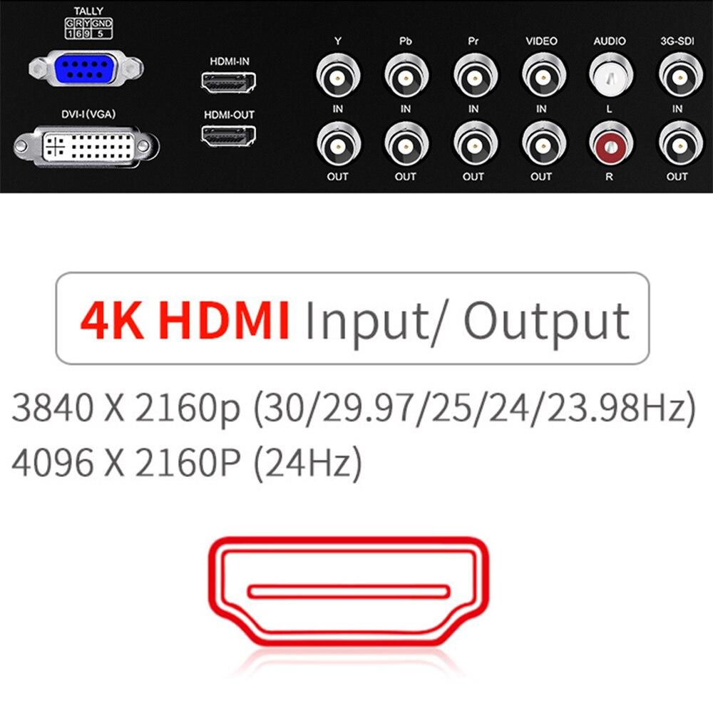 SEETEC P173 9HSD CO 4K HDMI 3G SDI พกพา Broadcast Director Full HD 1920x1080 อลูมิเนียมพร้อม YPbPr วิดีโอเสียง-ใน จอ จาก อุปกรณ์อิเล็กทรอนิกส์ บน AliExpress - 11.11_สิบเอ็ด สิบเอ็ดวันคนโสด 3