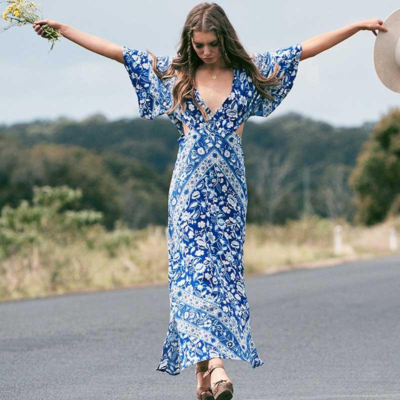 aliexpress  buy boho inspired coachella dress print