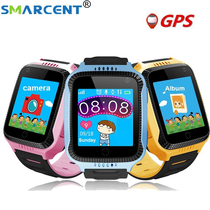2018 Q528 Bambini Astuto di GPS Della Vigilanza Con La Torcia Elettrica e Fotocamera Y21 Baby Watch Chiamata SOS Dispositivo Posizione Tracker Kid Sicuro orologio