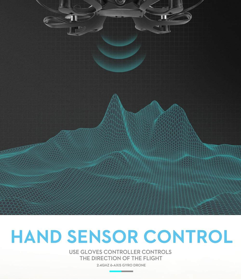Valcano Gloves Control Mini Drone 11
