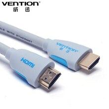 Vention hdmi kabel video kabel vergoldete standard 19 pin stecker auf männlichen hdmi splitter 1,4 1080 p 3d kabel für media player hdtv(China (Mainland))