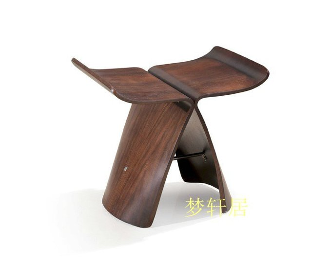 Small Stool Wood Stool Butterfly Chair Stool Changing His Shoes Stool  Sample Room Furnishings Stools Creative