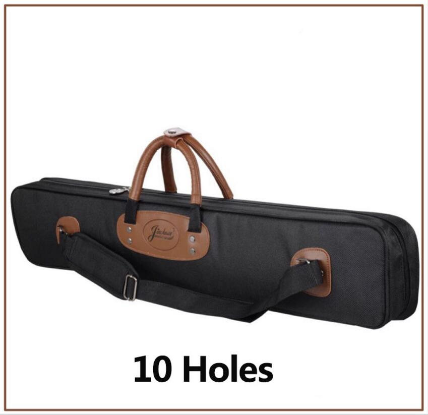 New High Capacity 10 Holes Oxford Cloth 1/2 Billiard Pool Cue Case Kit Billiards Accessories Black/Blue/Red Colors China 2019