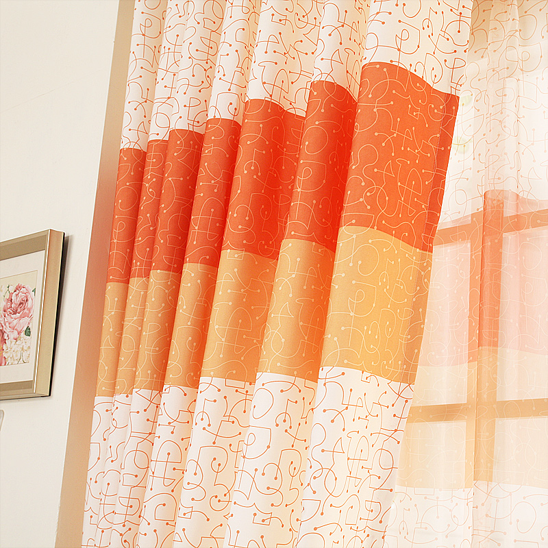 Curtains for living dining room bedroom customized product for Modern curtains for living room 2014