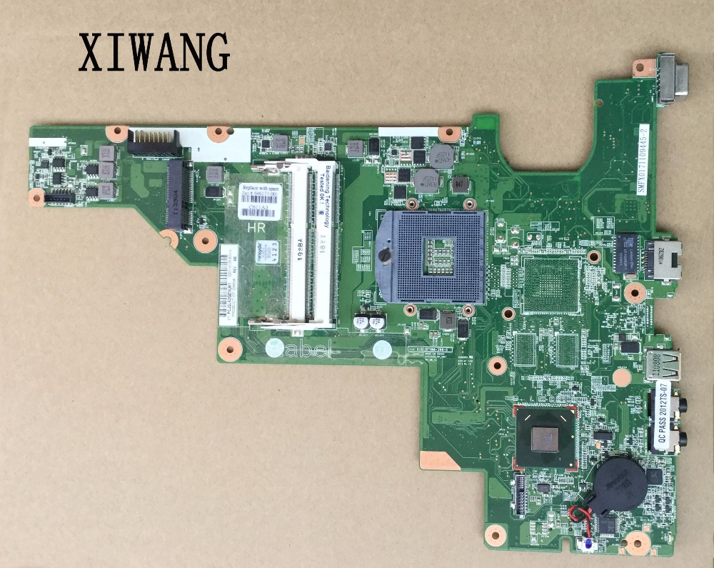 Free Shipping For hp 2000 CQ43 Motherboard 646177 001 Genuine Laptop mainboard 100 Tested ok