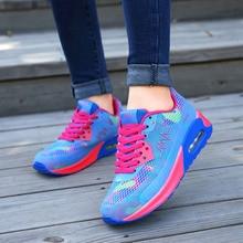 VTOTA Spring Fashion Women Casual Shoes Mesh Pink Sneakers P