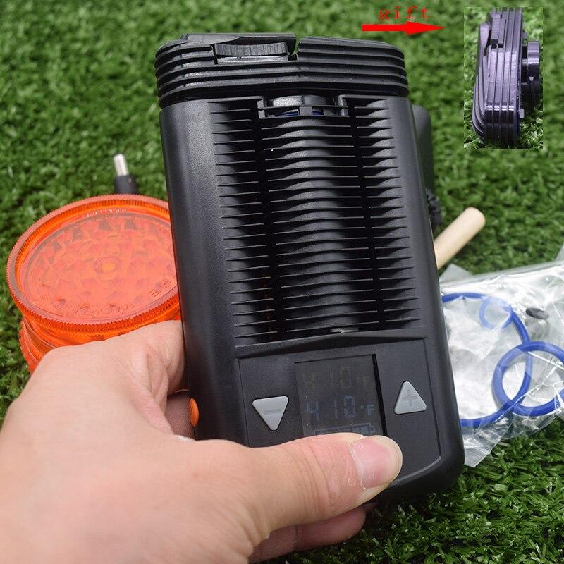 Puissant Portable vaporisateur herbe sèche meilleur vaporisateur alimenté par batterie poche lisse vapeur fraîche avec contrôle de la température réglable