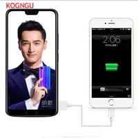 Kogngu Fashion Battery Charger Case for Huawei Honor 10 6500mah Back Clip Battery Wireless Fast Charger
