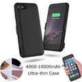 King. 4000 - 10000mAh Ultra-thin external Power bank backup battery Charger Case For iPhone6 6s 7 Plus