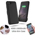 Rey. 4000-10000 mAh ultrafino banco de la Energía del Cargador de batería de reserva externa Para iPhone6 6 s 7 Más