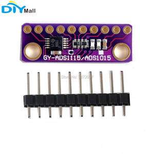 Image 2 - 5pcs/lot GY ADS1115 16 Bit I2C 4 Channel ADC Module with Programmable Gain Amplifier for Arduino Raspberry Pi