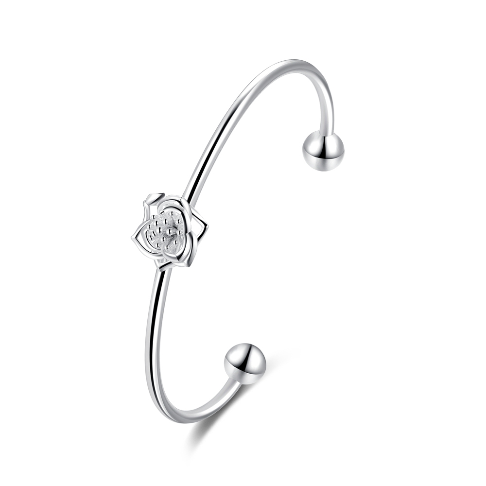 Women's Bracelet LEKANI Flower Charm Bracelet For Women