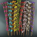 10pcs Cheap 40cm Bud Artificial Branches Flower Iron Wire For Wedding Decoration DIY Scrapbooking Decorative Wreath Fake Flowers