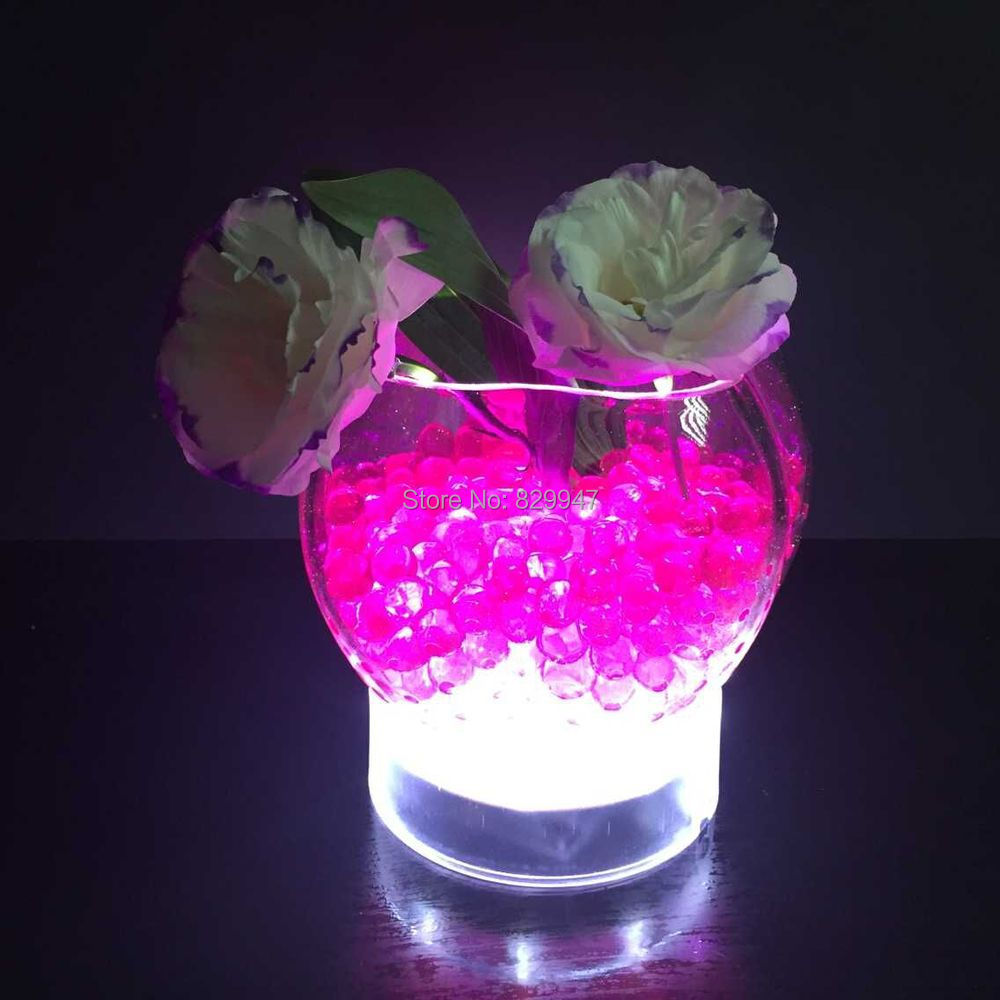 10 pcslot free shipping 4 inch round shape color changing led 10 pcslot free shipping 4 inch round shape color changing led vase centerpiece light led undervase base light in holiday lighting from lights lighting floridaeventfo Gallery