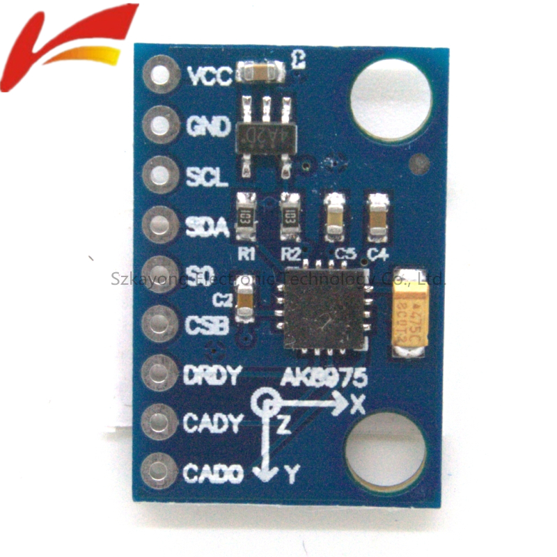 MCU-86 AK8975 Three-axis Electronic Compass High Precison Compass Module