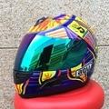 MARUSHIN SHOEI motorcycle  racing helmet Mens motorcycle helmets DOT approved trans