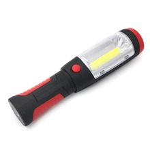 LED Hook Light Magnetic Flashlight Perfect Torch Work Lamp with Magnet and 2 Light Modes Camping