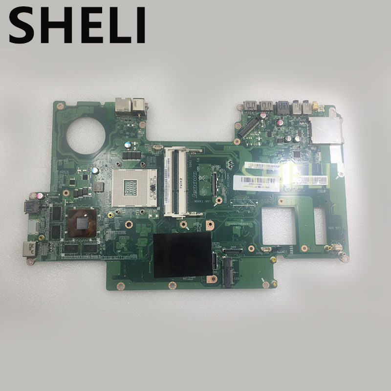 SHELI PER LENOVO 90001493 DA0QU7MB8E0 IdeaCentre A720 Notebook Mainboard della Scheda Madre GeForce GT630M video DDR3 HM76SHELI PER LENOVO 90001493 DA0QU7MB8E0 IdeaCentre A720 Notebook Mainboard della Scheda Madre GeForce GT630M video DDR3 HM76