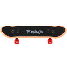 Plastic Mini Finger Skateboarding Fingerboard Toy DIY Mini Suit Finger Scooter Skate Boarding Classic Chic Game Boys Desk Toy(China)