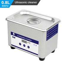 Ship from Czech Republic Skymen 800ml Stainless Steel JP-008 Ultrasonic Cleaner Bath Digital Ultrasound Wave Cleaning