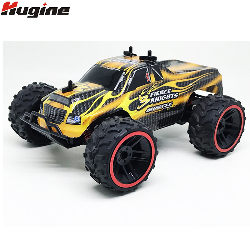 RC Cars Brand New Full Proportion Monster Truck Off Road 1:16 2.4G High Speed Racing Car Big Foot Buggy Model Vehicle Kids Toys