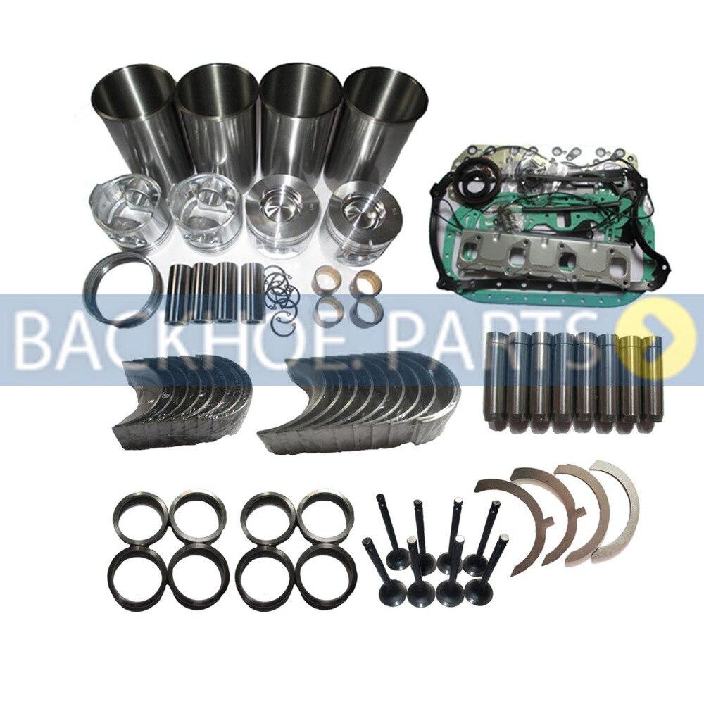 Spare Part Litre Overhaul Rebuild Kit 1989-1998 for Toyota Hilux/&Hiace 3L Diesel Engine 2.8 Excavator Gasket Aftermarket Parts