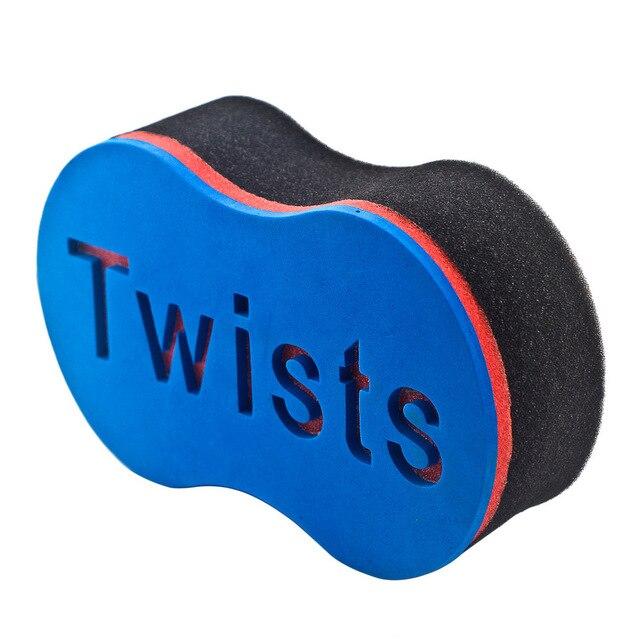 Magic Hair Twist Sponge Curl Brush For Natural,Afro Coil Waves Dreads Dreads Twisting Locks Dreadlock Brushes Barber Braider