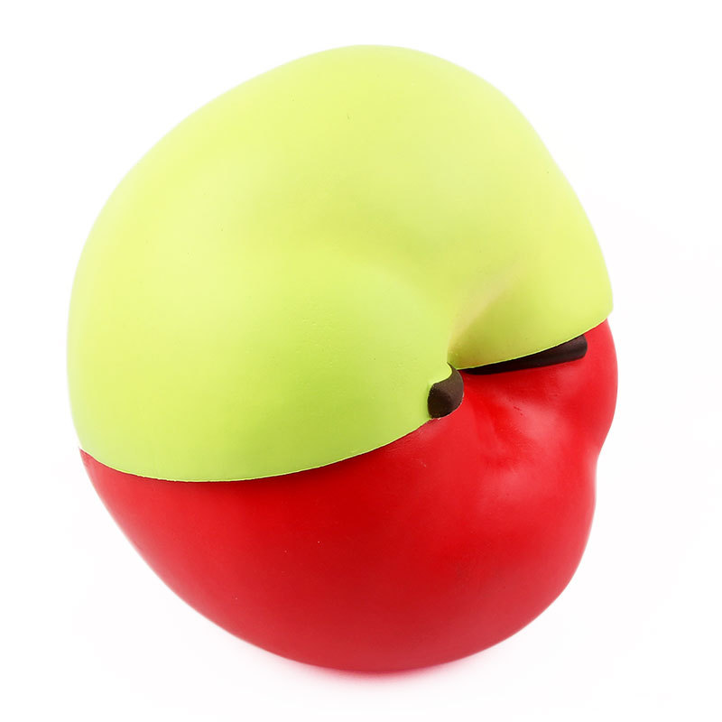 2018 New Extra Big Apple Squishy Slow Rising Huge Squishies Large Soft PU Squish Simulation Fruit Relief Antistress Kid Gifts