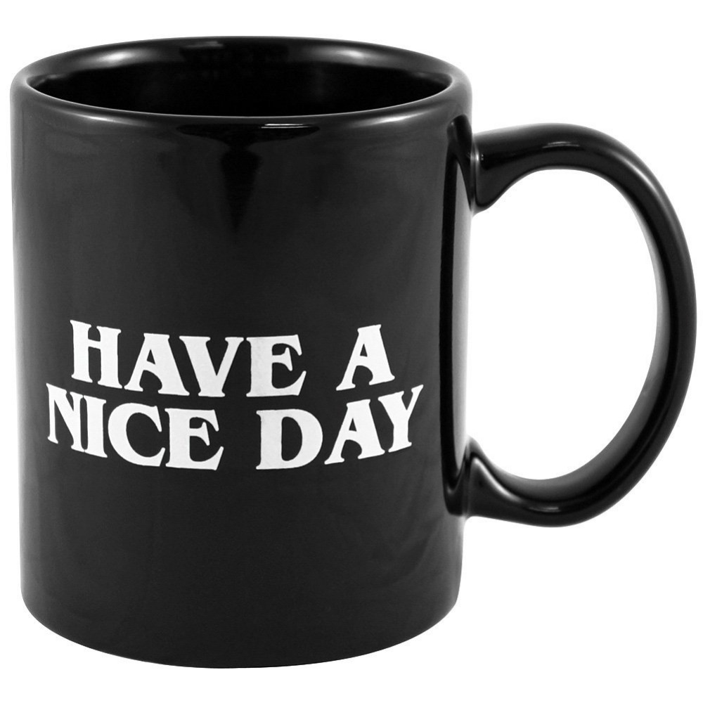 office coffee cups. Ceramic Middle Finger Coffee Cups Personality Office Gifts Have A Nice Day Mug CUP For Christmas/birthday Gift-in Mugs From Home \u0026 Garden On Aliexpress.com