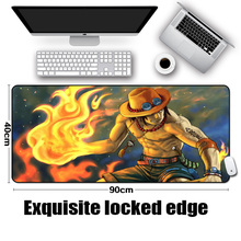 Portgas D Ace Big Sized Mousepad 400x900x2/3/4/5MM