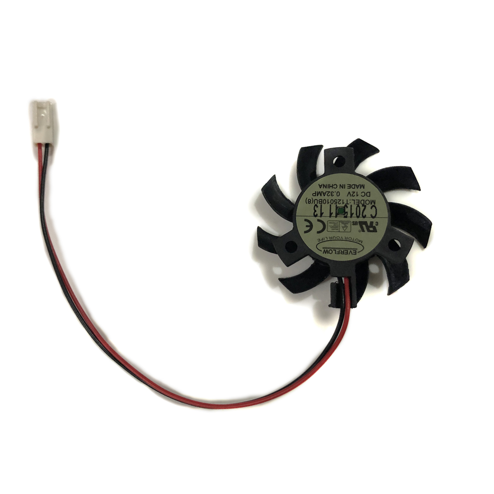 hight resolution of 5010 12v 0 32a 2pin 2 wires t125010bu blower motherboard cooler cooling fan in fans cooling from computer office on aliexpress com alibaba group