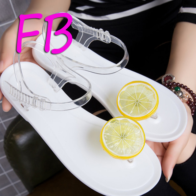 fb78326437a52 Flip-Flops Fresh Lemon Jelly Sandals Mushroom Head 2019 Brazil Selling  Summer Sandals Gladiator Women Shoes Beach Sandals PVC
