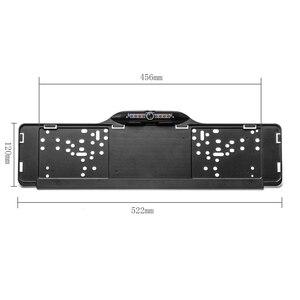 Image 4 - Podofo parktronik ab araba plaka çerçevesi dikiz kamera 170 derece geri geri görüş kamerası park yardımı araba Styling