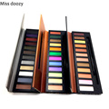 Miss doozy  Makeup Eyeshadow Shadow Pallete Glitter Balm Naked Palette Glitter Brow CosmeticNatural Matte Gift Pro Nude 12 Color
