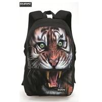 Trendy 3d Zoo Animal Tiger Men S Backpacks Bagpack Dog Printing Backpack For Teenage Girls Boys