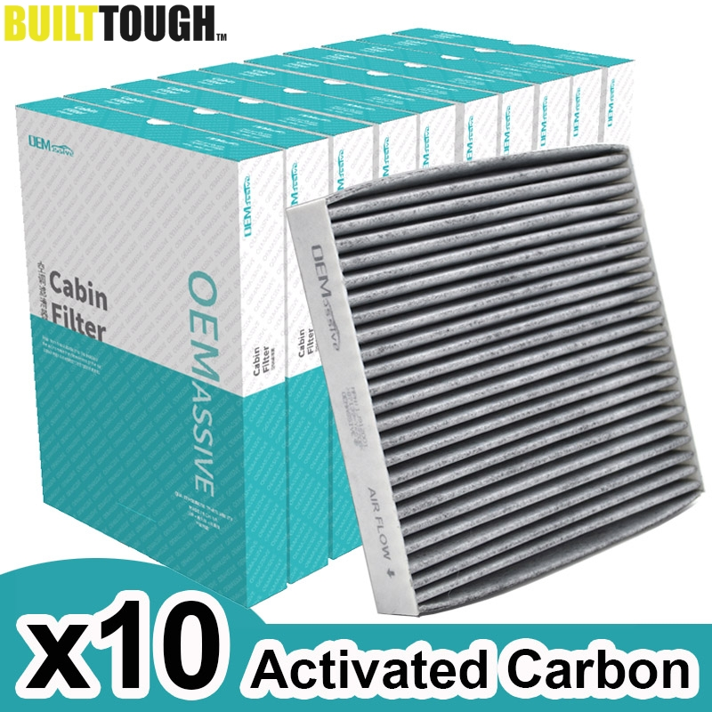 10x Car Accessories Pollen Cabin Filter Activated Carbon For Toyota Yaris RAV4 Camry Lexus RX LX