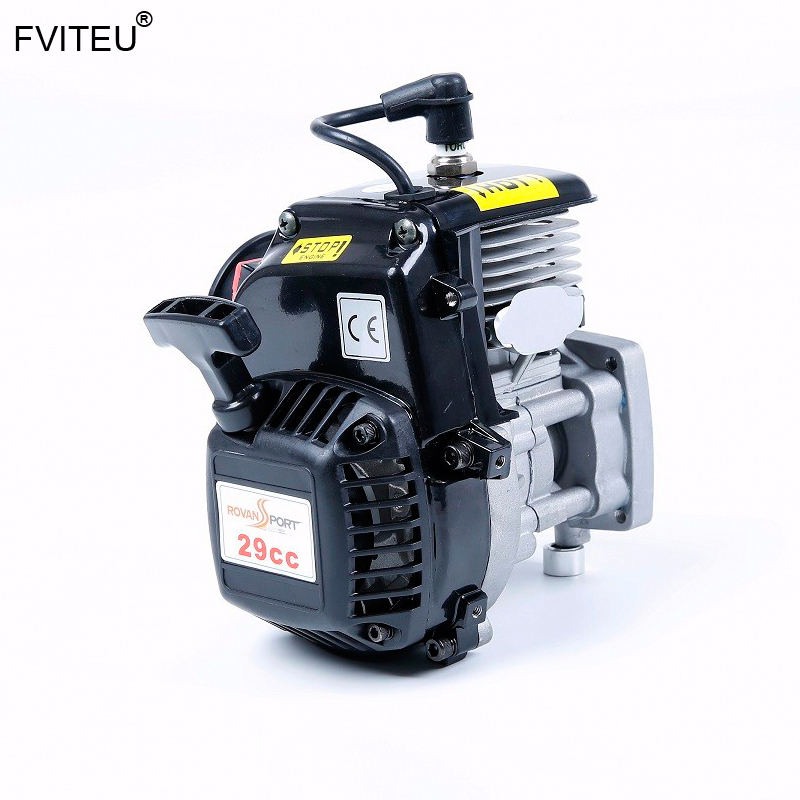 FVITEU 29cc 4 BOLT Motor met rui xing carb en china bougie fit 1/5 Schaal RC voertuigen HPI LOSI rovan KM